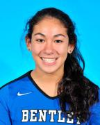 Harrison graduate Jessica Segal was Bentley College's starting volleyball defensive specialist as a freshman and excelled at her new position.
