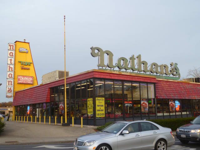 Nathan's Famous Hot Dogs on Central Park Avenue in Yonkers will close Nov. 25 while it tears down and rebuilds the restaurant.
