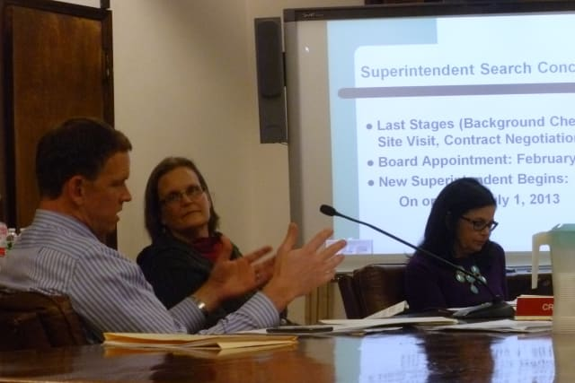 The Board of Education of the Public Schools of the Tarrytowns discussed what characteristics they wanted in a new superintendent on Thursday.