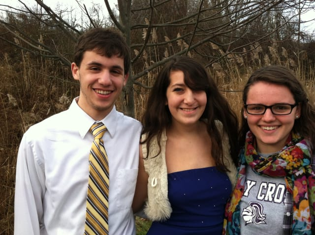 Three Fox Lane seniors Jakob Ebers, Ursula Seymour and Lee Tooker were selected for all-state music ensembles.