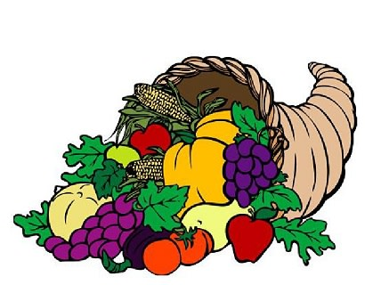 St. Mark's Episcopal Church's annual Thanksgiving Feast will be held Thanksgiving Day in the parish hall.