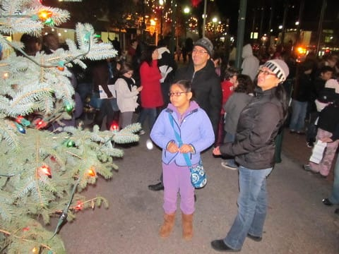 The New Rochelle Chamber of Commerce has its annual holiday lighting ceremony Thursday.