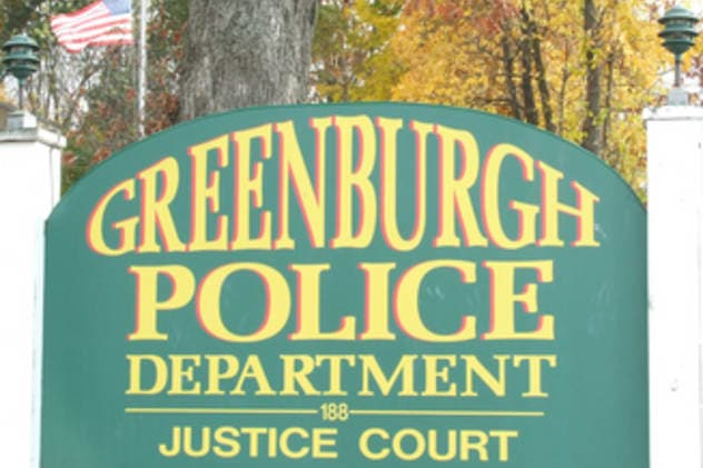 A Hartsdale man and Greenburgh police officer faces harassment and criminal mischief charges.