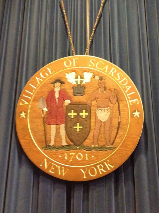 The Scarsdale Board of Trustees meeting is at 8 p.m. Tuesday.