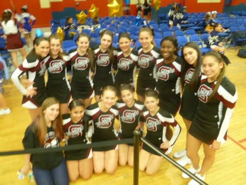 The Scarsdale cheerleading squad will be highlighted on MSG Varsity this weekend.
