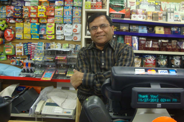 Uben Shah at Crossroads Card and Gift in Norwalk has been selling a lot of Powerball tickets to people who don't normally buy them.