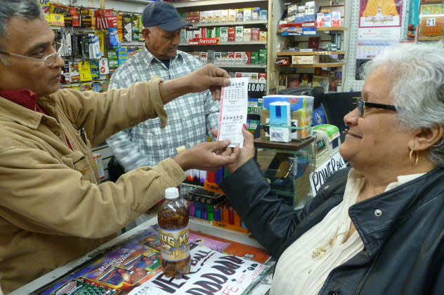 Powerball fever has hit Yonkers as lotto hopefuls are spending big on numbers.