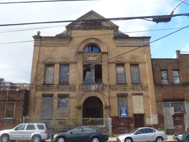 The city's Industrial Development Agency approved a series of tax incentives for the demolition and remediation of Teutonia Hall on Buena Vista Avenue.