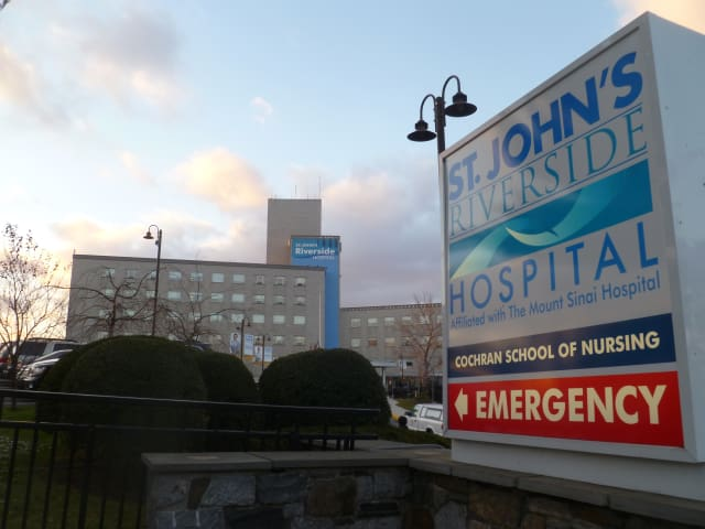 St. John's Riverside Hospital is seeking $10 million in state aid to expand its emergency room.