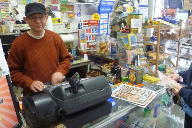 Jottery Stationery owner John Schnabel is hopeful his store will sell the winning Powerball ticket.