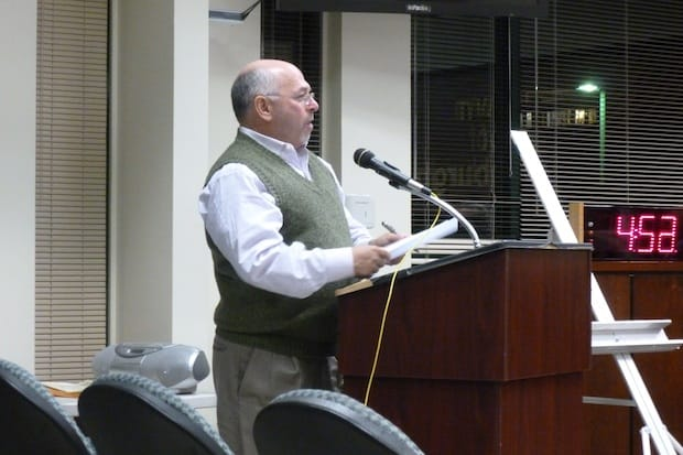 Edgemont Community Council Director Bob Bernstein called Greenburgh's tentative town budget for next year sloppy, and said the board should look into additional ways to cut back.