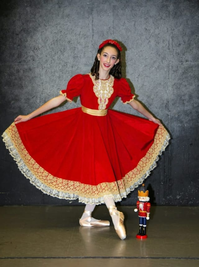 Gianna Forte, who'd been dancing since she was 2, stars in the New England Ballet Company's performance of Nutcracker Dec. 15 at the Klein Memorial Auditorium in Bridgeport.