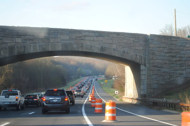 The Taconic State Parkway will have single-lane closures until Dec. 28 because of construction work.