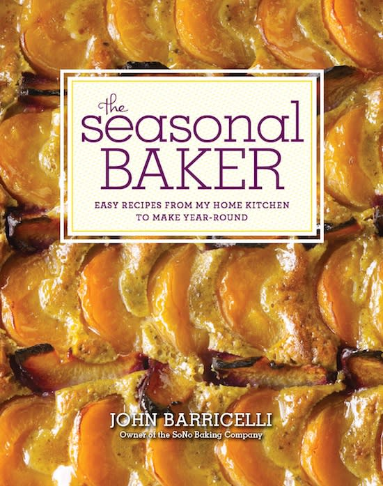 "John Barricelli, author of ""The Seasonal Baker"" will host a baking program Wednesday."