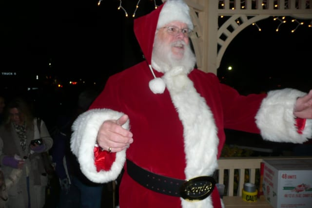 Santa Claus will be one of the hundreds of people in Wilton Center on Friday for the annual Wilton Holiday Stroll.