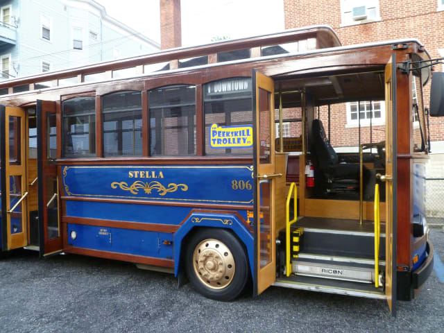 The Peekskill Trolley Company begins its Holiday Lights Tours on Dec. 14.