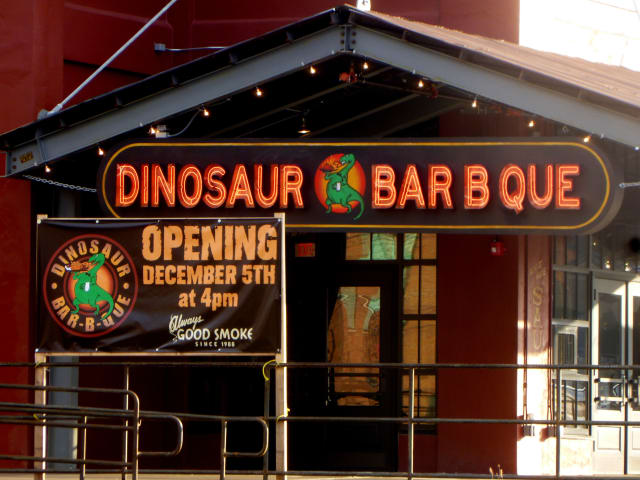 Dinosaur Bar-B-Que's sixth location will open Wednesday in Stamford.