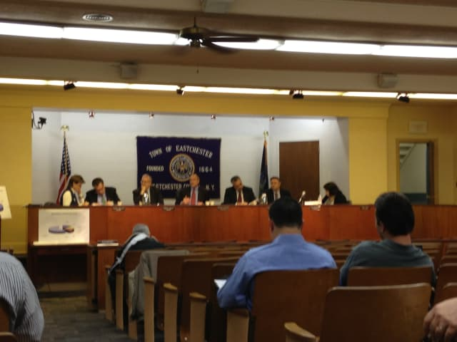 The Eastchester Town Board unanimously voted to terminate four employees.