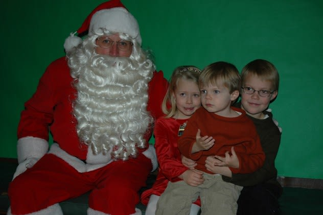 Santa will make an appearance at the Bedford Hills Fire Department's annual candy cane run Saturday and at the Bedford ViIlage Lions Club annual pancake breakfast Sunday.