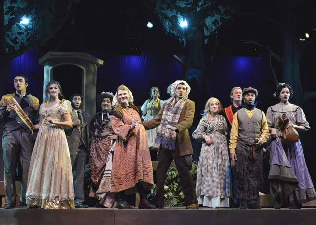 "WestConn hosts four performances of ""Into the Woods"" this weekend."