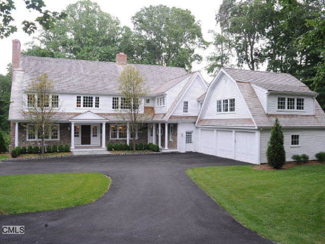 The home at 6 Cobble Hill Road in Westport recently sold for $2.795 million.
