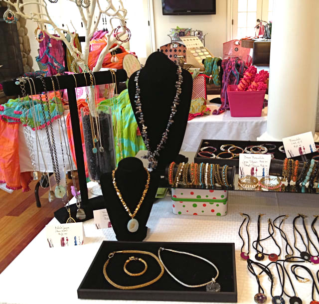 CLJ Elements Jewelry, designed by Carla Jegen, and monogrammed gifts and clothing from Erica Lahn's E List - everything erica, are some of the items showcased at the Holiday Boutique at The Norfield Grange Thursday from 7 to 10 p.m.