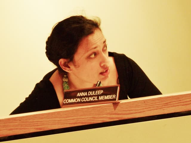 Common Councilwoman Anna Duleep (D-At-Large) called on the council to elect a new president Tuesday night.