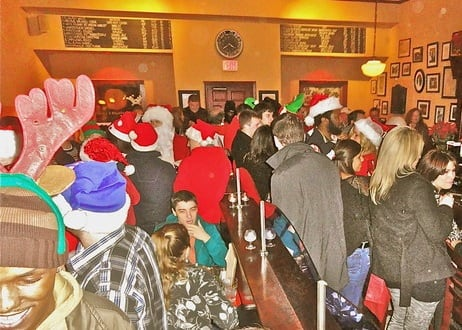 The Santas return to Peekskill for Santa Con 2012 Saturday.