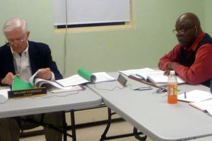 The Peekskill Housing Authority is looking for a replacement for Executive Director Harold Phipps, right.