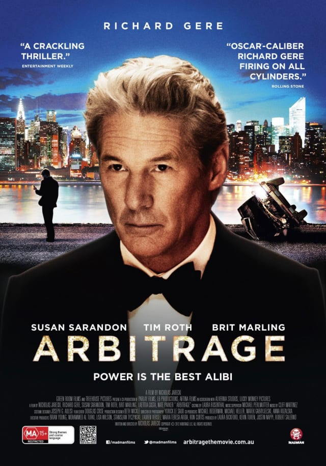 "Pound Ridge's Richard Gere snagged a Golden Globe nomination for his role in ""Arbitrage."""