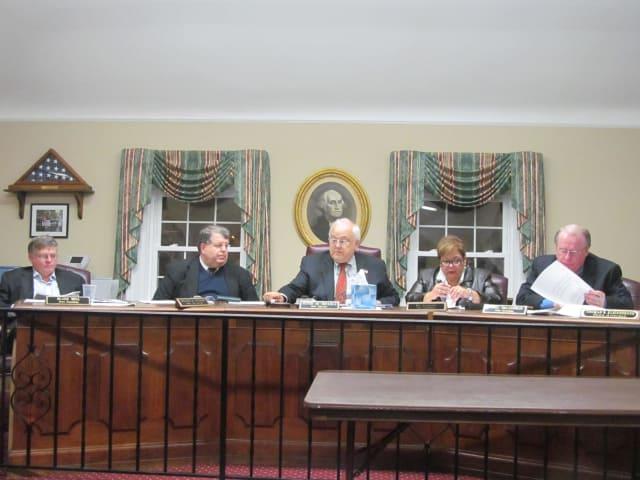 The Pelham Town Board meets Monday.