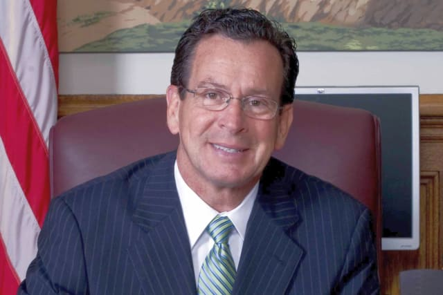 Gov. Dannel P. Malloy said Adam Lanza shot his way into the Sandy Hook School in Newtown.