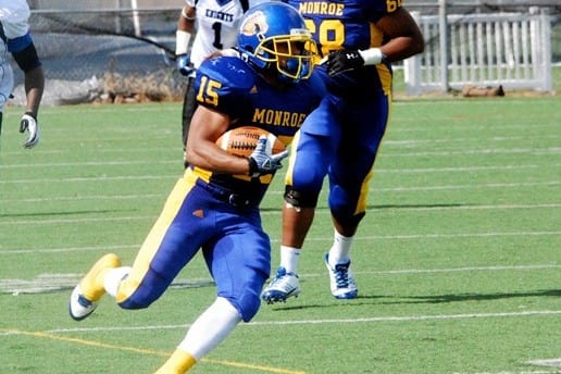 Justin Johnson and the Monroe College football team are official members of the Northeast Football Conference.