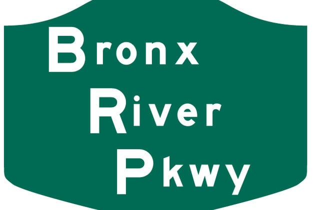 Two drivers were able to escape after their cars plunged off the Bronx River Parkway and into the Bronx River.