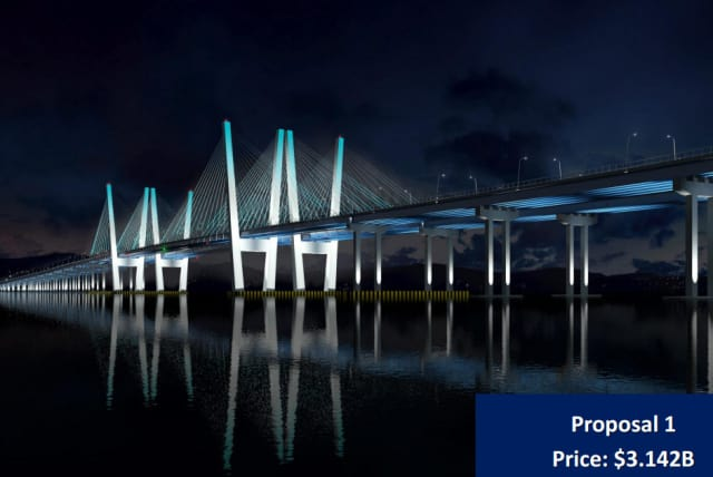 This is the chosen design for the new Tappan Zee Bridge which will cost about $3.142 billion.