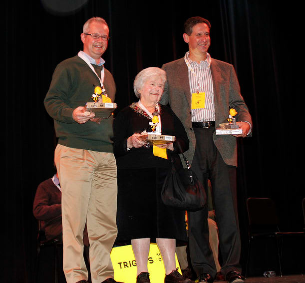 Last year's Scarsdale Spelling Bee champions: Hip To Bee Square.