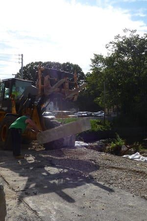 Construction has been ongoing on Yonkers Avenue in Tuckahoe for 17 months.