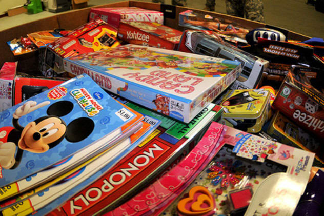 A toy distribution event is just one of the things happening in Yonkers this weekend.