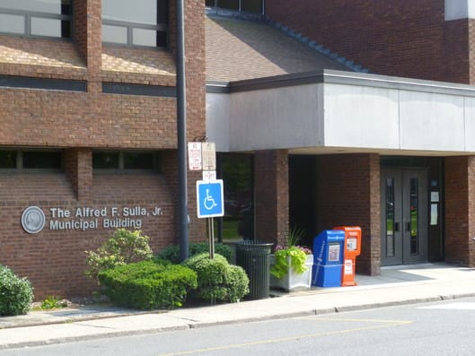 The Municipal Building in Harrison will be open on New Year's Eve and closed on New Year's Day.