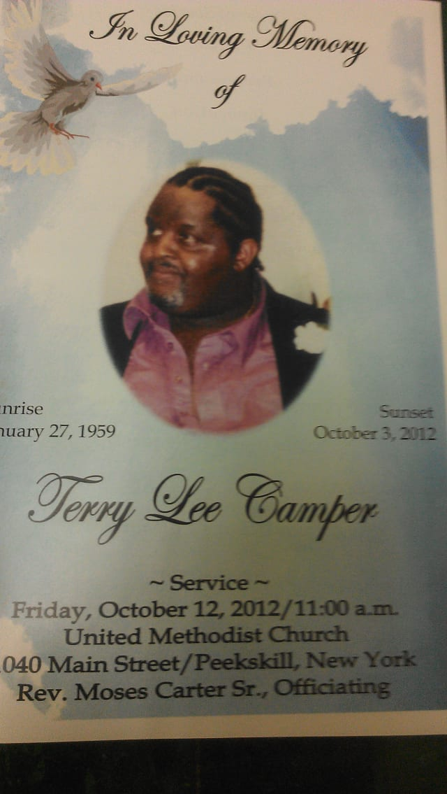 The slaying of former cabdriver Terry Camper shocked Peekskill residents.
