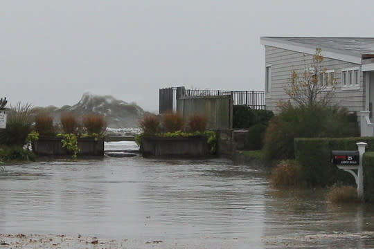 Hurricane Sandy is the top story of 2012 in Greenwich.