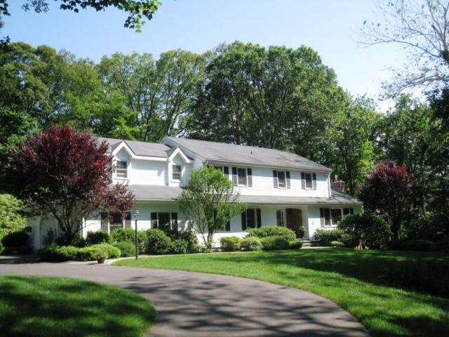 This single-family house at 43 Old Rock Lane in Norwalk recently sold for $829,000.