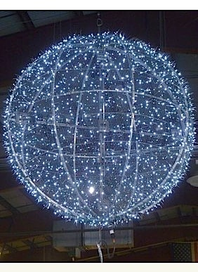 Plenty of New Year's Eve celebrations are on tap in the Greenburgh area — including the annual celebration in White Plains, where this 8-foot illuminated ball descended at midnight last year.