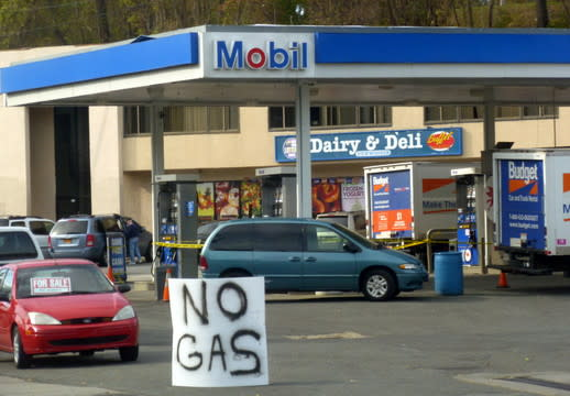 A November gas shortage was one of The Daily Voice's top stories in Yonkers during 2012.