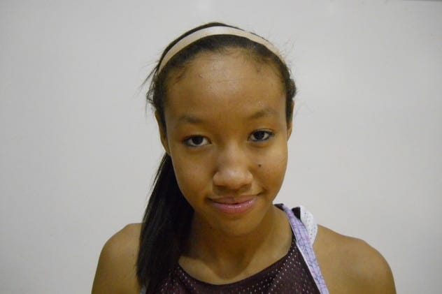 Ossining High School basketball star Saniya Chong is The Ossining Daily Voice Student-Athlete of The Month for December.
