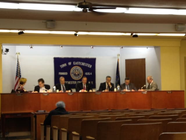 The Eastchester Town Board held its first meeting of the new year on Wednesday.
