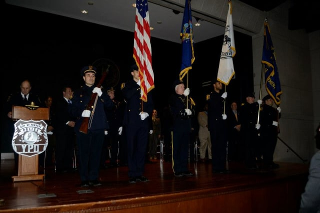 The Yonkers Police Department swore in 20 new officers Thursday during a ceremony at the Riverfront Library.