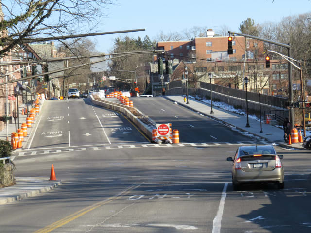 After three years, Scarsdale motorists will soon be able to utilize all lanes on the Popham Road Bridge.