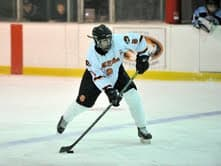 Senior forward Kevin McGee of the White Plains' varsity hockey team is The White Plains Daily Voice December Athlete of the Month.
