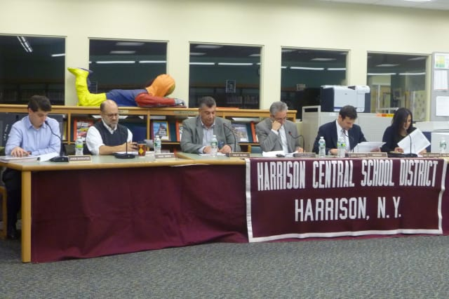 The Harrison Board of Education will meet Wednesday.
